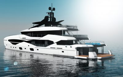 New Sunseeker 161 to be built by Icon Yachts, featuring Van Oossanen's FDHF