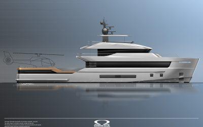 IYC Monaco, Omega Architects and Van Oossanen unveil NedXplor38: a compact and efficient explorer yacht concept