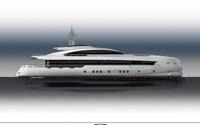 Hakvoort starts build of Project Adur, a 45 meter world-cruising fast aluminium motoryacht